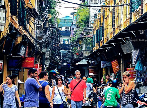 Hà Nội đón gần 3,2 triệu lượt khách du lịch quốc tế