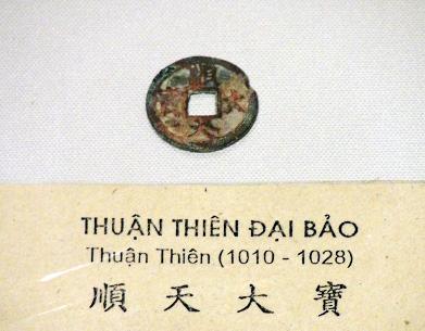 """""""Thuận Thiên đại bảo"""" - Đồng tiền đầu tiên của nhà Lý"""