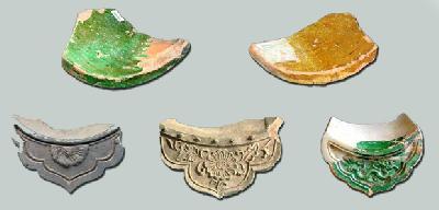 Các loại hình ngói lợp trên bộ mái kiến trúc thời Lê ở Khu di tích Hoàng thành Thăng Long