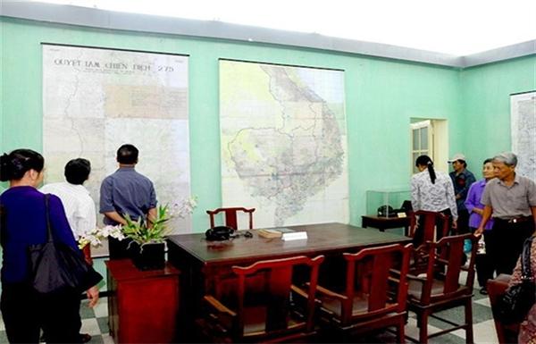 Di tích lịch sử cách mạng Nhà D67 trên trục chính tâm của Hoàng thành