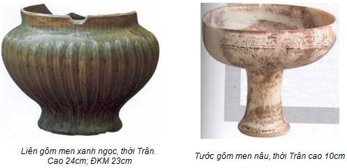Đồ gốm trong Hoàng thành Thăng Long thời Trần