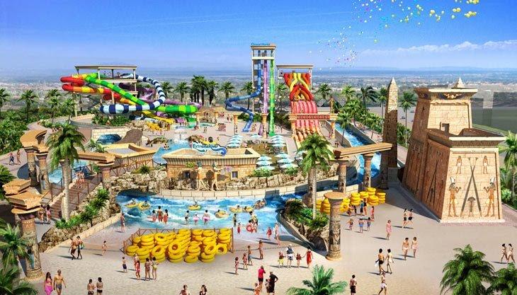 Hè này, thỏa sức vui chơi công viên nước Thanh Hà sắp khai trương ở Hà Nội