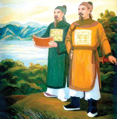 Nguyễn Trãi thuyết phục Vương Thông đầu hàng