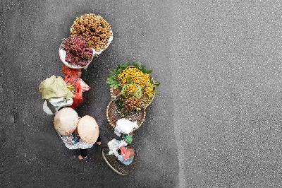 Gánh hàng rong vẫn là một nét đặc trưng của văn hóa Hà Nội