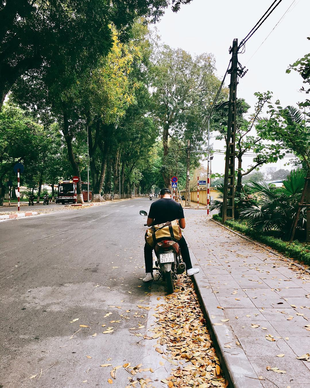 con đường Hà Nội