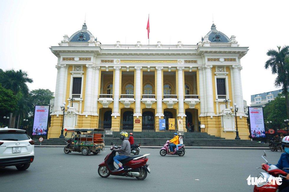 Nhà hát Lớn Hà Nội - Ảnh: NAM TRẦN